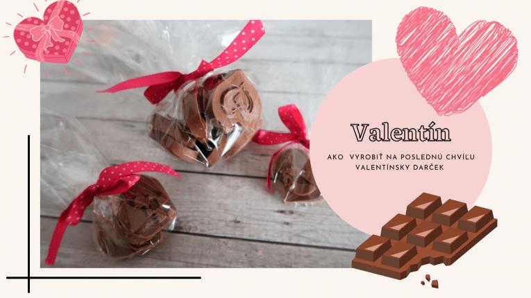 Ako vyrobiť na Valentína darček na poslednú chvíľu?